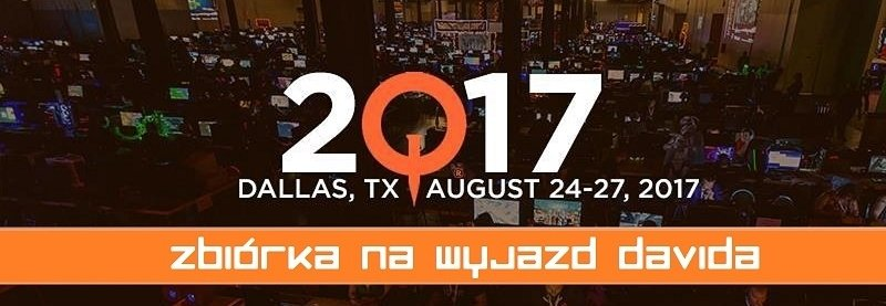 Polak na QuakeCon 2017