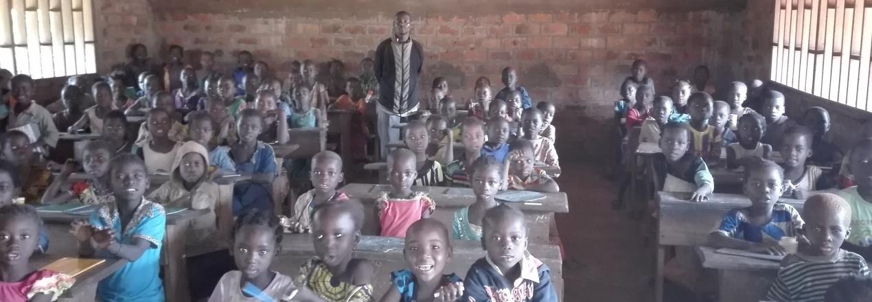 Pomoc dzieciom z Rafaï w Republice Centralnej Afryki