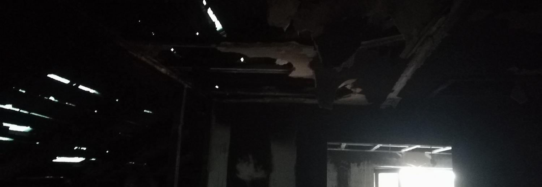 Pomoc pogorzelcom- nasz kolega z Ciechanowskiej Explozji 4x4