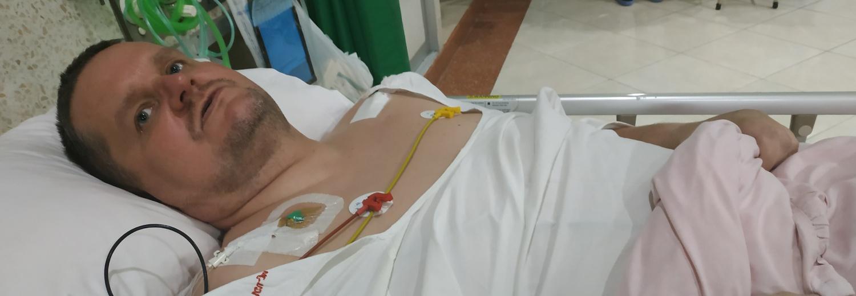 Leczenie szpitalne i rehabilitacja mojego brata