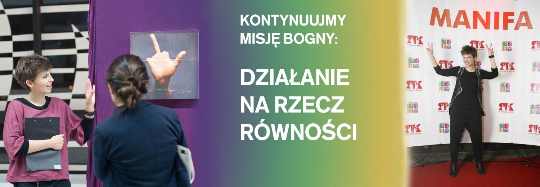 Kontynuujmy misję Bogny Olszewskiej - działanie na rzecz równości!