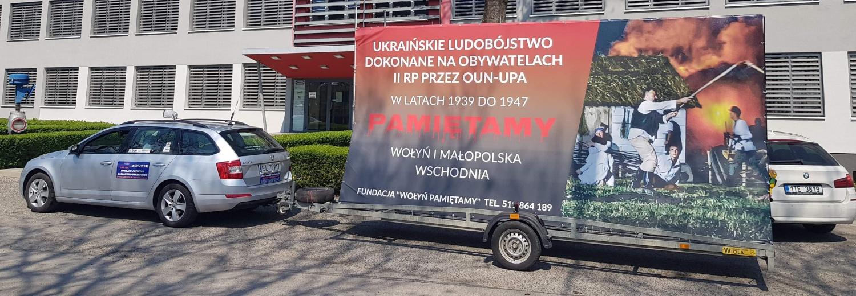 kampania mobilna o ukraińskim ludobójstwie na Polakach - LUBLIN!!!