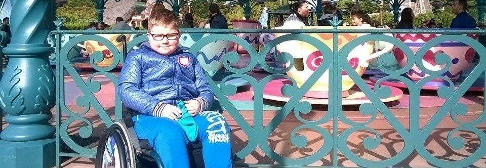 Wózek inwalidzki dla Patryka