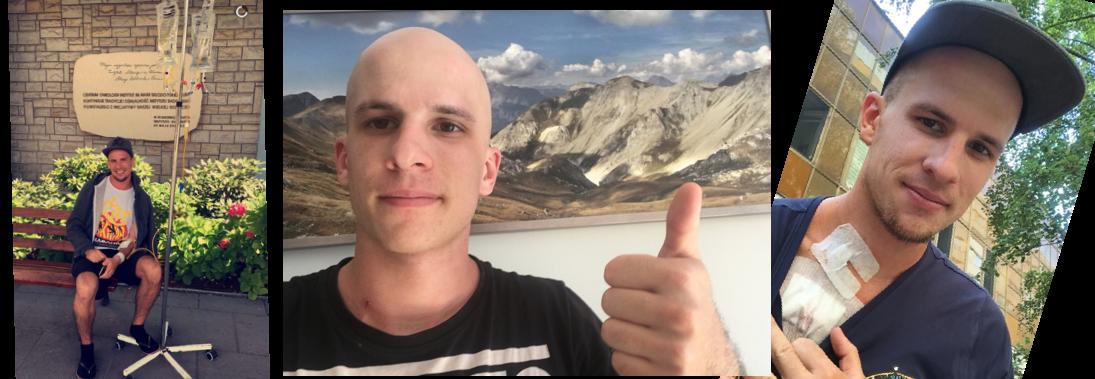 Cześć jestem Bartosz, pomóż mi w walce z rakiem.