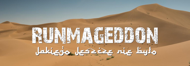 Spełnienie Marzeń - Bieg RunmageddonGlobal Sahara