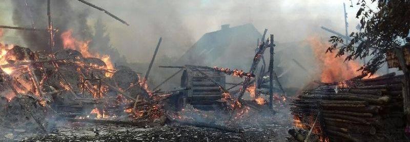 Pomoc na odbudowę spalonego gospodarstwa!