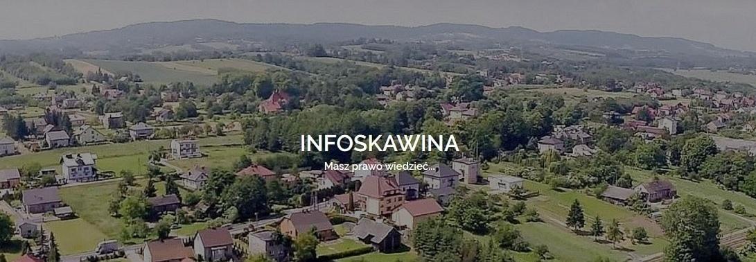 Portal obywatelski INFOSKAWINA.PL - zbiórka na serwer/domenę, zbieranie materiałów do artykułów