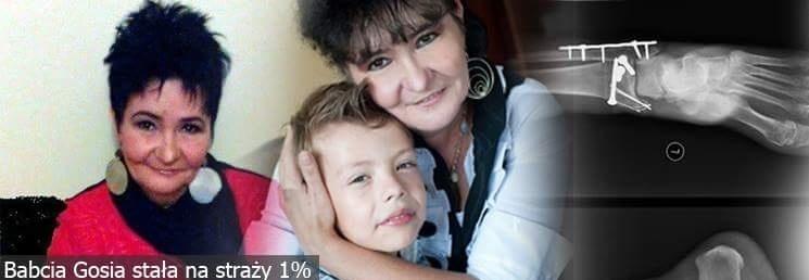 Babcia Gosia Pomagała innym tyle lat, dziś Ona potrzebuje Pomocy.
