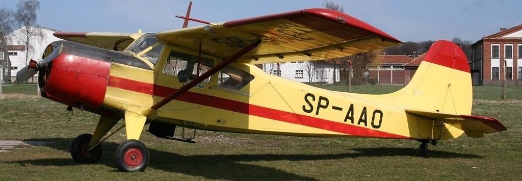 Remont samolotu Aeroklubu Elbląskiego, JAK 12-A