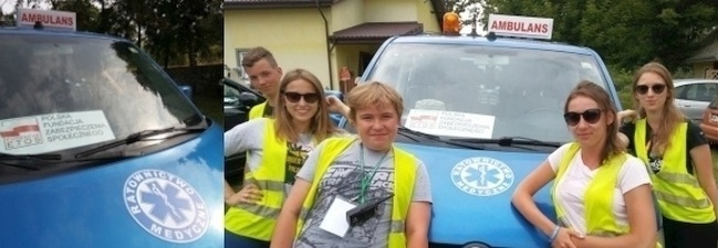 Ambulans poszukiwawczo ratowniczy -  pojazd do poszukiwań zewnętrznych osób zaginionych