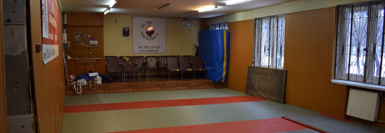 Świętochłowice .Remont salki do judo - dla przedszkolaków i dzieci szkolnych