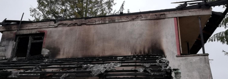 Odbudowa domu po pożarze