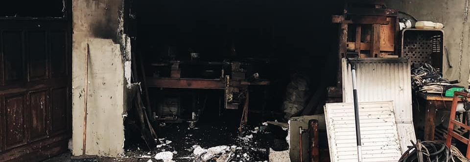 Zrzutka na zabezpieczenie i odbudowanie po pożarze stolarni Pana Andrzeja.