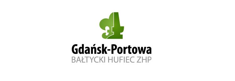 Nowy sztandar Bałtyckiego Hufca ZHP Gdańsk-Portowa im. Obrońców Westerplatte
