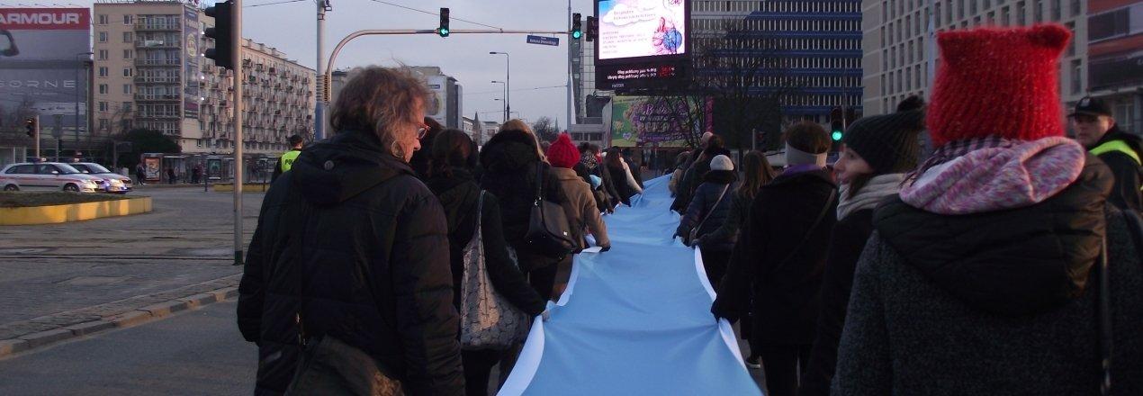 Działalność Protestu kobiet. Materiały edukacyjne i promocyjne potrzebne do akcji ulicznych