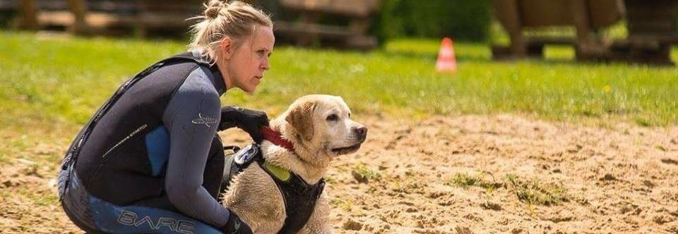 Idealny team - człowiek i pies - potrzebuje pomocy