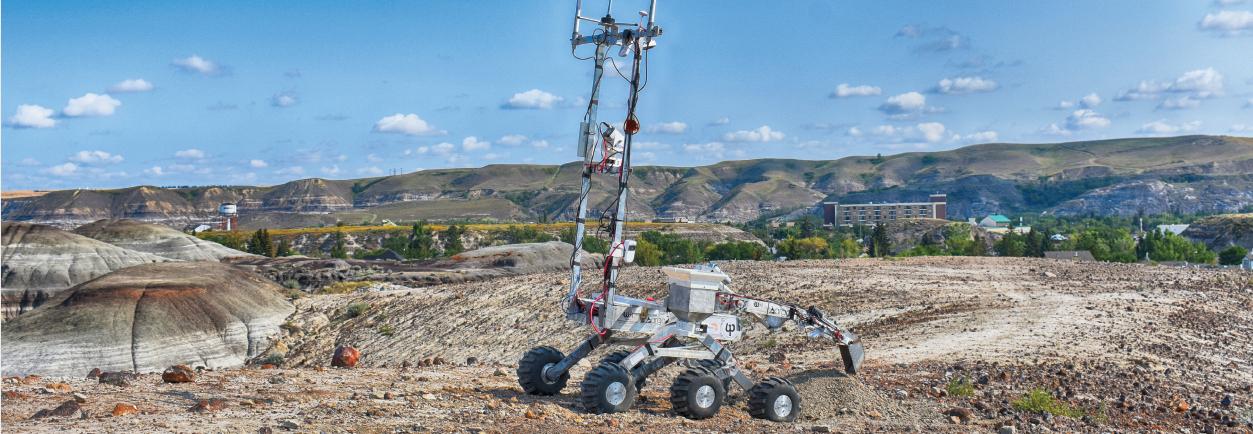 Wyjazd drużyny Argo na zawody robotów marsjańskich w Stanach Zjednoczonych