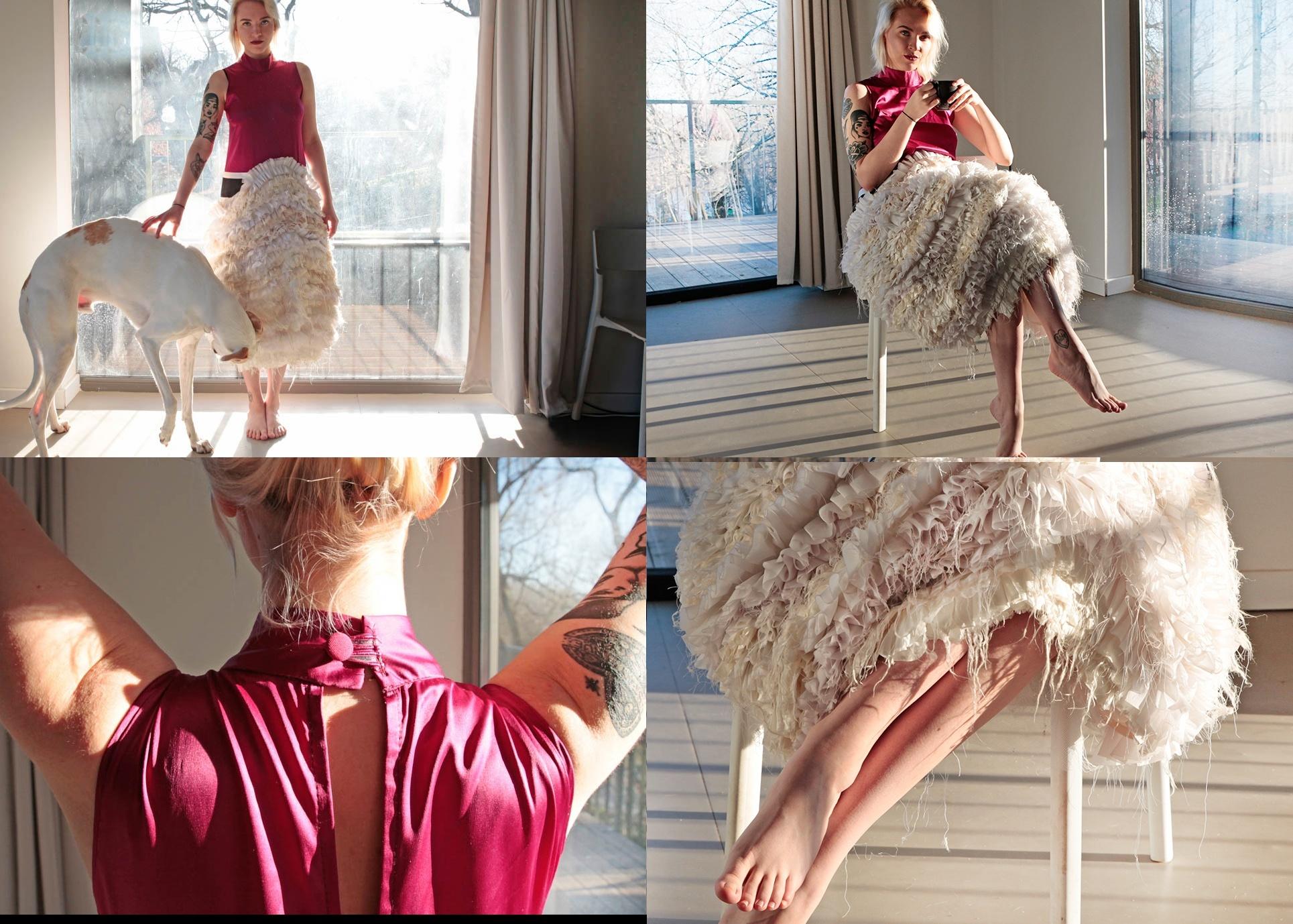 Piękna, rajska suknia od grupy Mixer