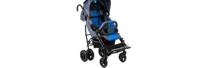 Nowy wózek dla Michałka