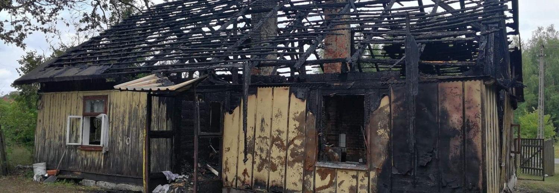 Pomoc po pożarze domu