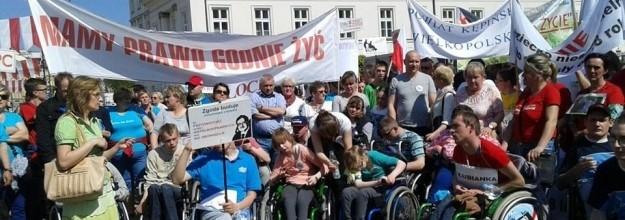 Wyjazd Rodziców Dzieci Niepełnosprawnych na Protest do PE w Brukseli.