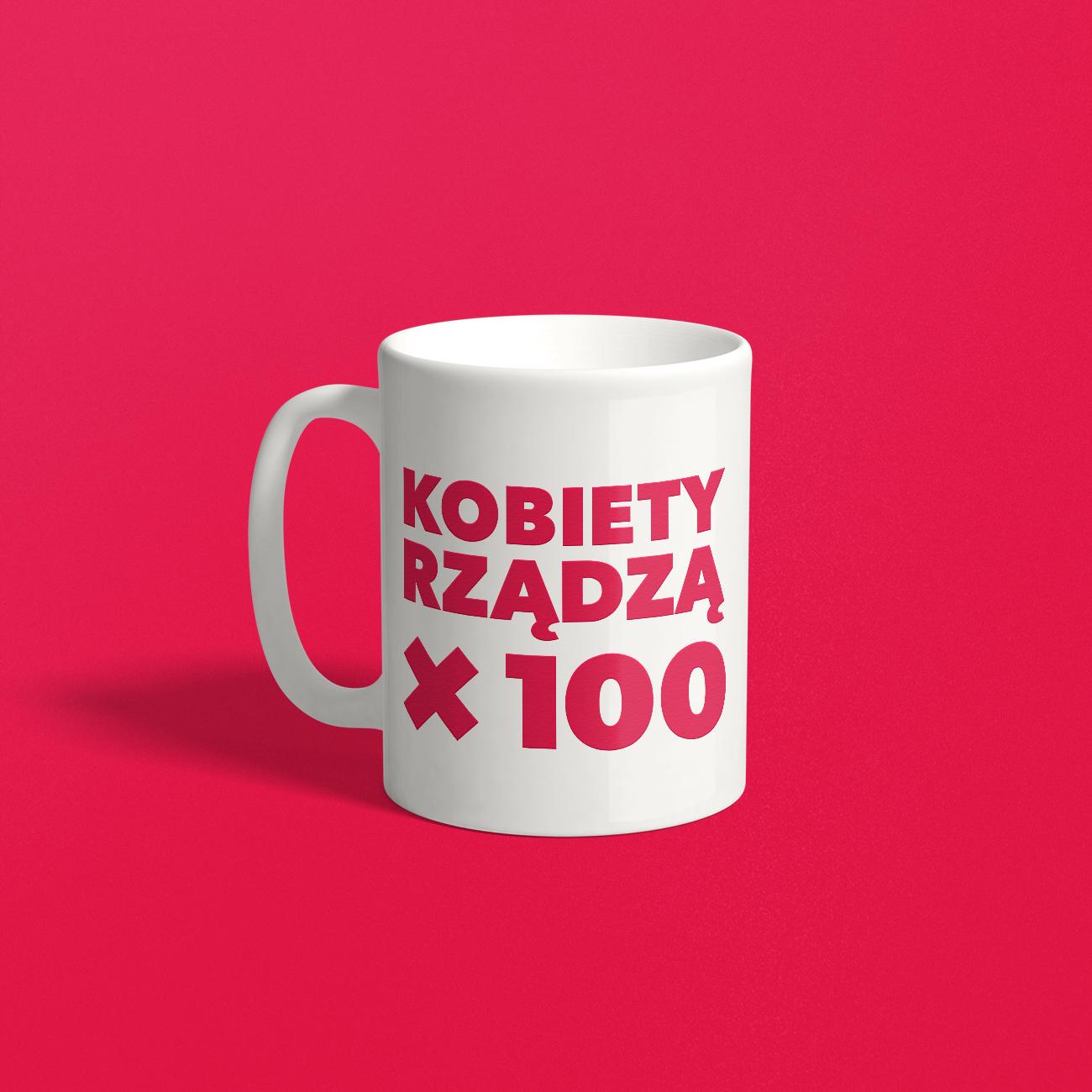 Toast na stulecie! Kubek #kobietyrządząx100 + wejściówka mogą być twoje!