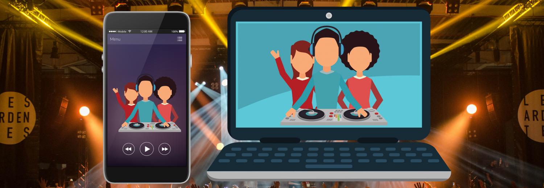 Dicho.pl - aplikacja i portal dla miłośników Disco Polo typu Spotify, Tidal.