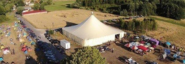 Namiot na Festiwal Orle Gniazdo!