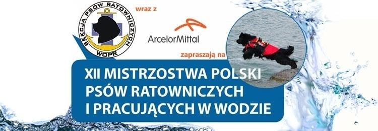 XII Mistrzostwa Polski Psów Ratowniczych - koszulka
