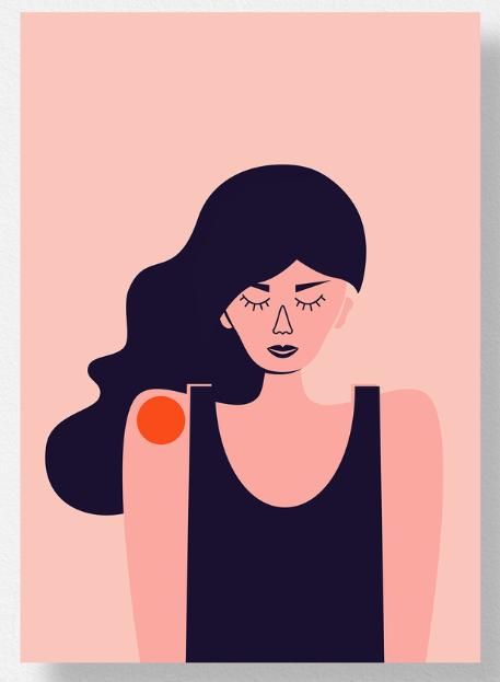 "Ilustracja Olgi Fedirko ""The One"""