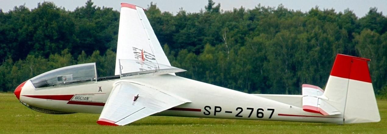 Zakup szybowca Bocian dla Aeroklubu Ostrowskiego