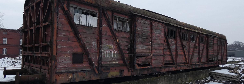 """Transport wagonu towarowego """"Bromberg"""""""