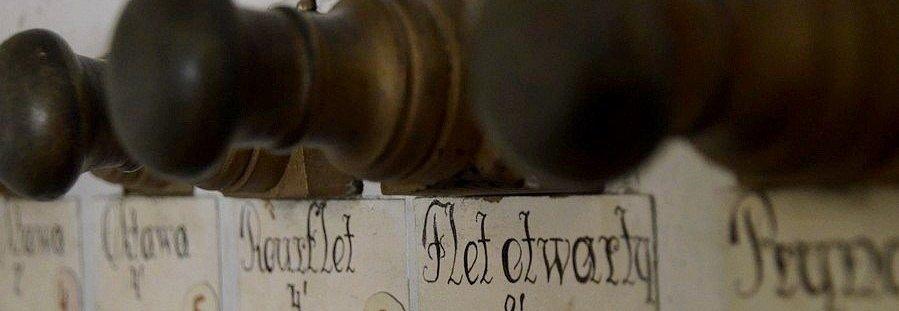 Remont zabytkowych 165 letnich organów I etap