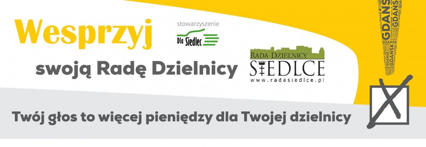 Zbiórka na kampanię informacyjną dotyczącą wyborów do Rady Dzielnicy Siedlce - 24.03.2019