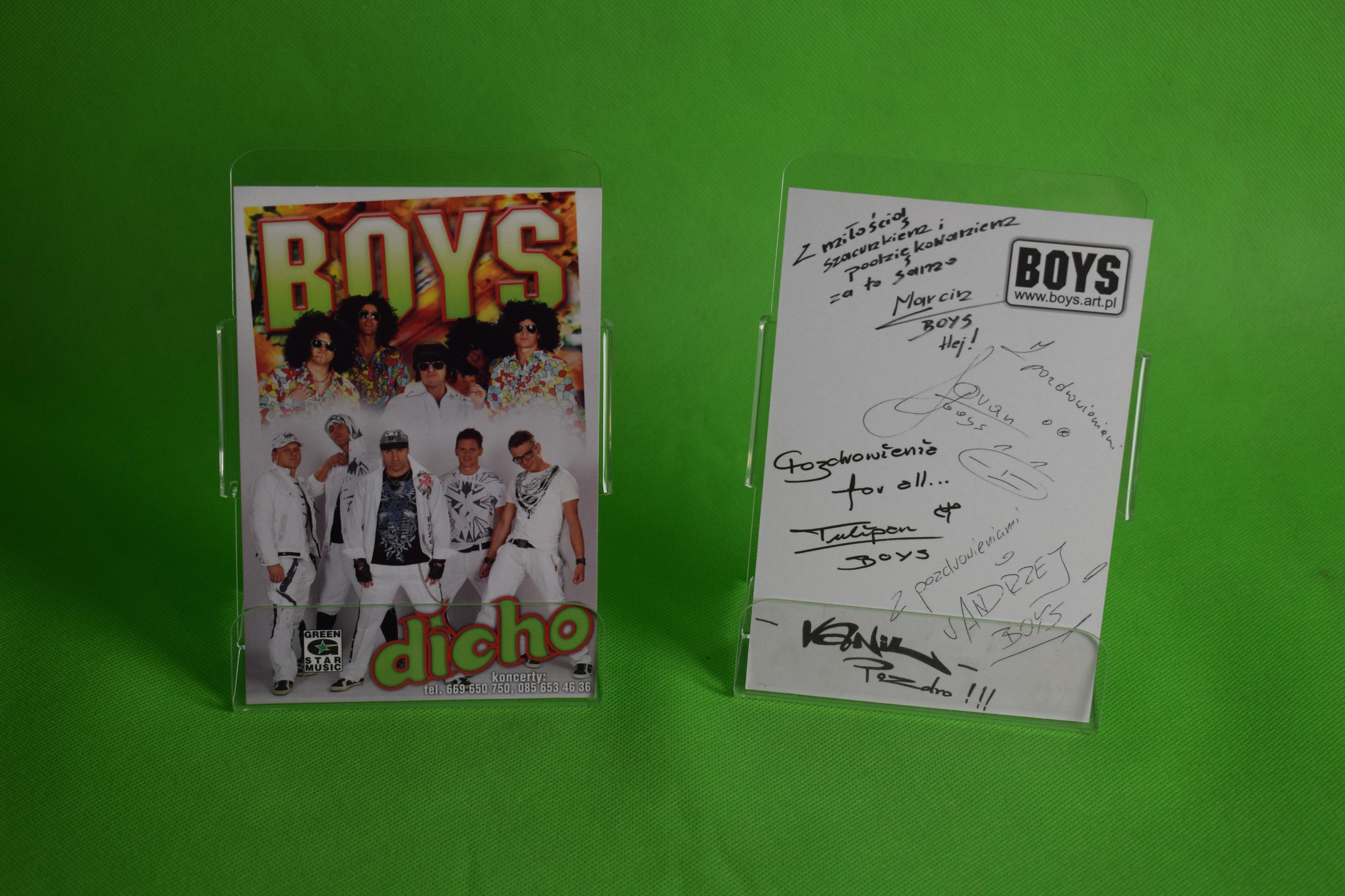 Autograf Zespołu Boys