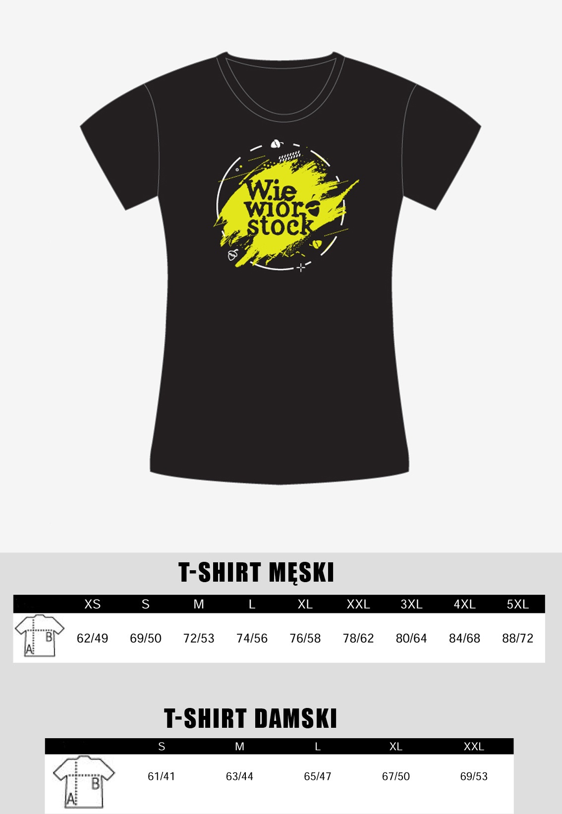 Wiewiórstockowy T-shirt wzór drugi :) Damski M
