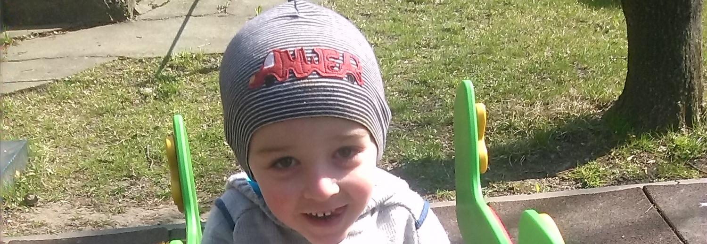 Na leczenie syna, 4-letniego Krzysia.