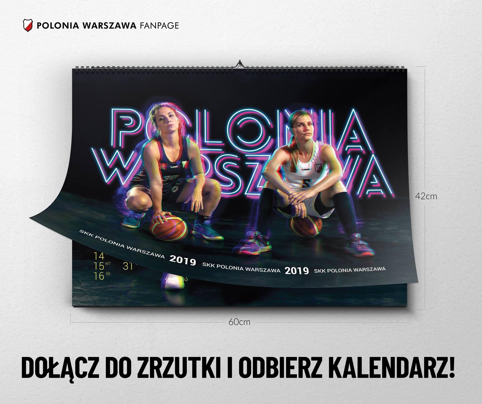 KALENDARZ SKK Polonia Warszawa na 2019r!