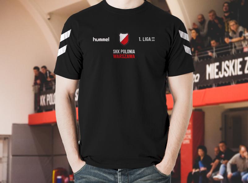 Koszulka Hummel - SKK Polonia Warszawa 1. Liga