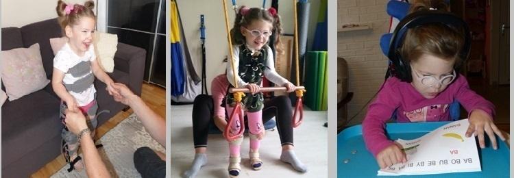 Na rehabilitację, której wymaga niepełnosprawna Ewelinka