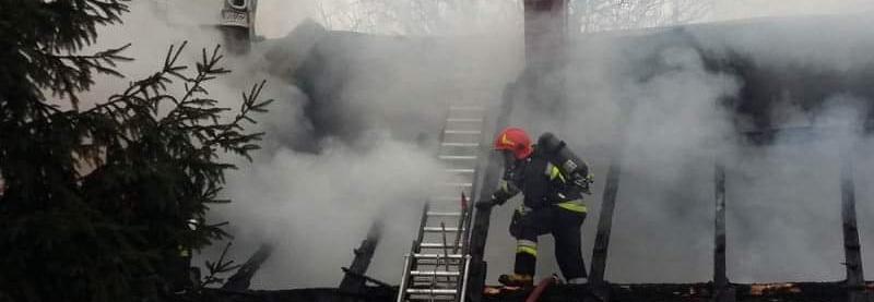 Pomoc dla rodziny, która straciła dom w pożarze w Woźnikach (12.18)