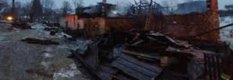 Rodzina bezdomna /po pożarze/ zbiera fundusze na odbudowę domu.