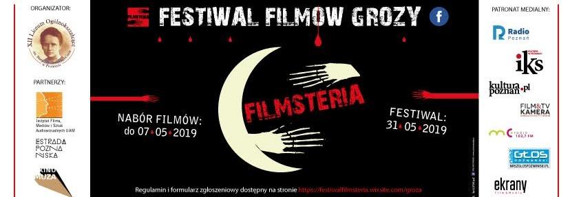 """Festiwal Filmów Grozy ,,FilmSteria"""""""