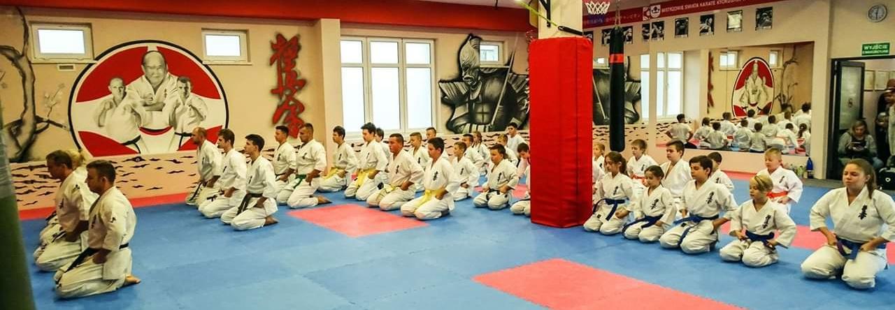 Wyposażenie siłowni dla członków klubu karate SIŁOWNIA DZIERŻONIÓW