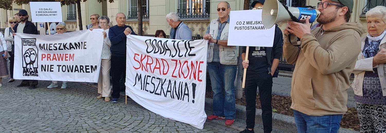 Sprawiedliwość dla lokatorów zakładowych: wyjazd na manifestację do Warszawy