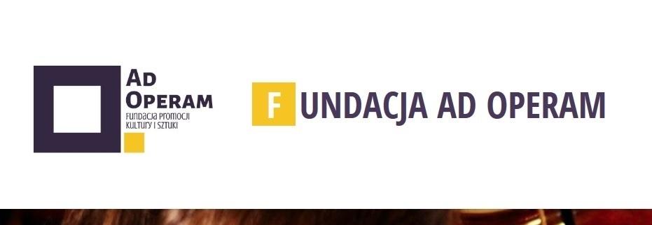 Zrzutka na działalność kulturalną Fundacji Ad Operam w Krakowie