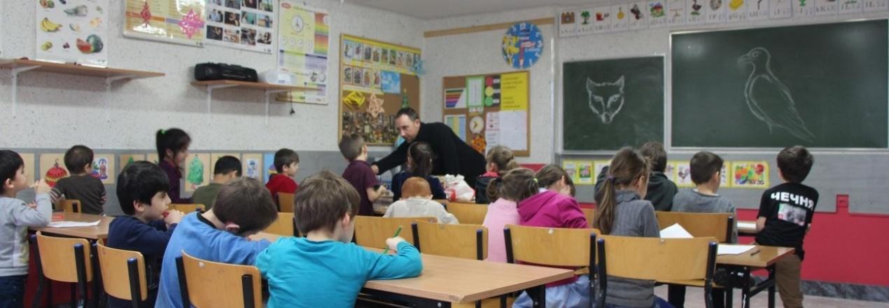 Ferie zimowe dla dzieci z Ośrodka dla Cudzoziemców w Łukowie
