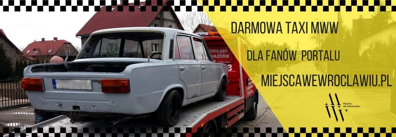 Pierwsza darmowa taksówka we Wrocławiu! - ETAP II