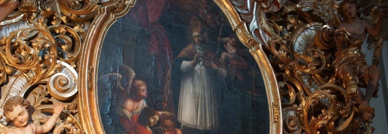 Renowacja obrazu św. Walentego w Bazylice Wambierzyckiej - koszty I i II etapu renowacji