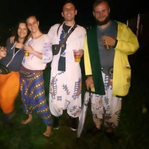 Dawid,Waldek,Sylwia,Ania i wataha dzieci